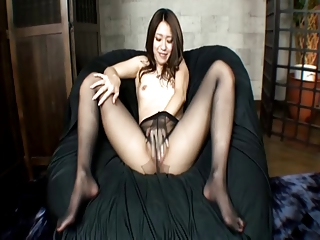 JAV Girl Pantyhose Feet