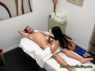 Naughty Masseuse Ember Snow..