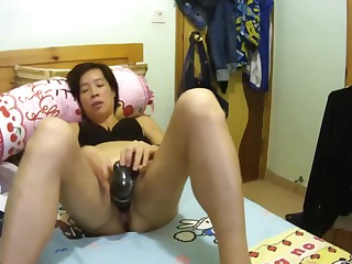 Chinese caught masturbating..
