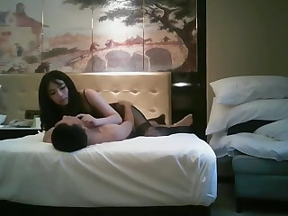 Hong kong hotel threesome