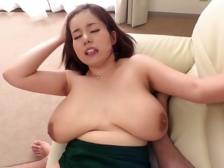 Exotic Japanese whore down..