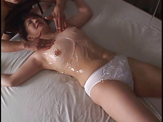 asian tied woman in panty..