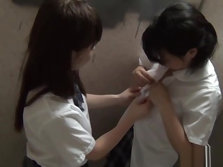 Japanese teenager fingers