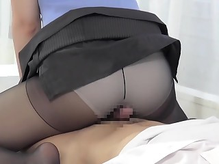 Horny Japanese trollop in..