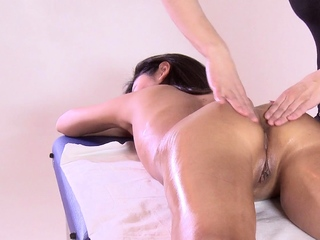 First duration massage..