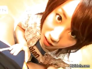 Japanese Yui Komiya having..